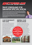 Stressline Architects Flyer
