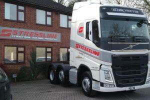 New Stressline Volvo Truck