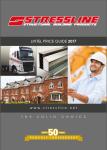 Stressline steel lintel price guide