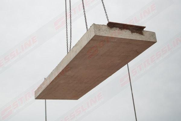 Stressline precast concrete balcony