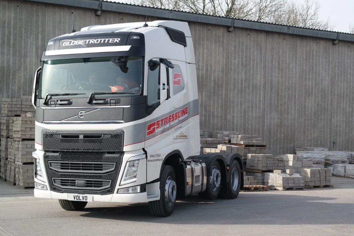 Stressline Haulage Volvo Truck