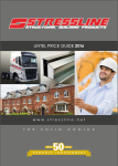 Stressline Lintel Price Guide 2016