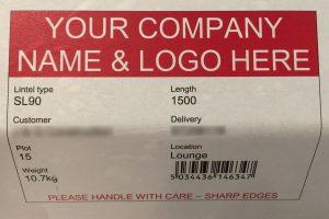 Stressline Sample Label