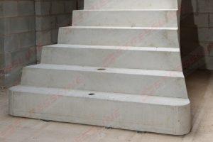 Stressline precast concrete stairs