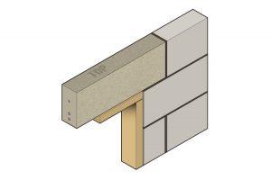 Stressline high strength prestressed concrete lintel