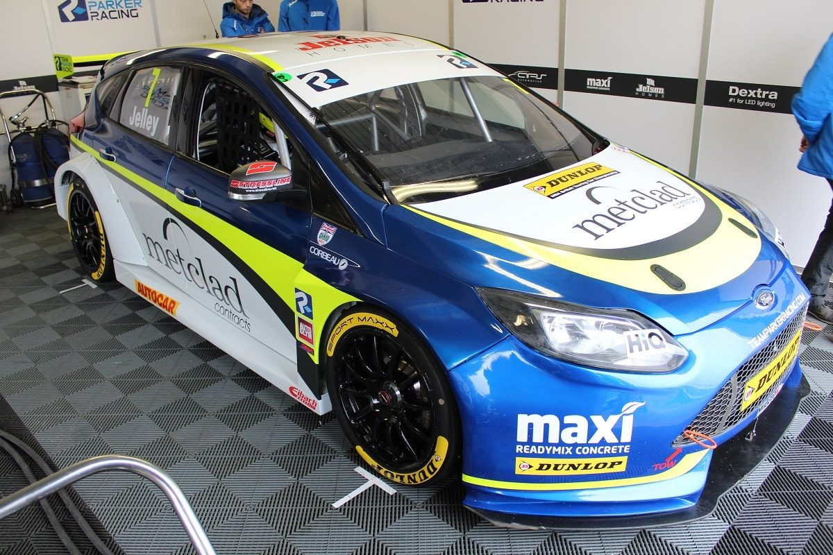 BTCC Ford Focus Stephen Jelley Car