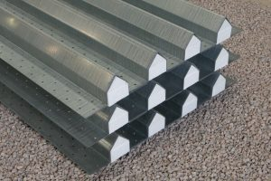 Group of steel cavity lintels