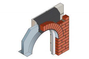 Stressline special steel lintel 3D image
