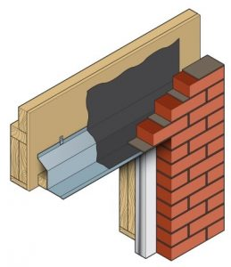 Timber Frame Steel Lintel 3D Image