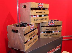 Stressline beer crate prize