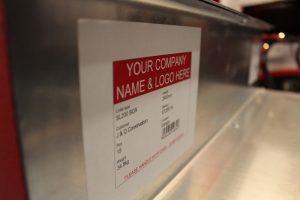 Stressline bespoke labels