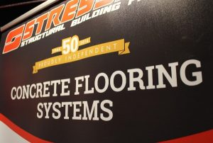 Flooring display NMBS show