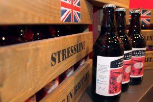 British Beer Crate and Langton Beer