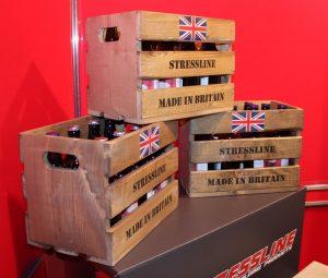 Stressline British Beer Crate NMBS show