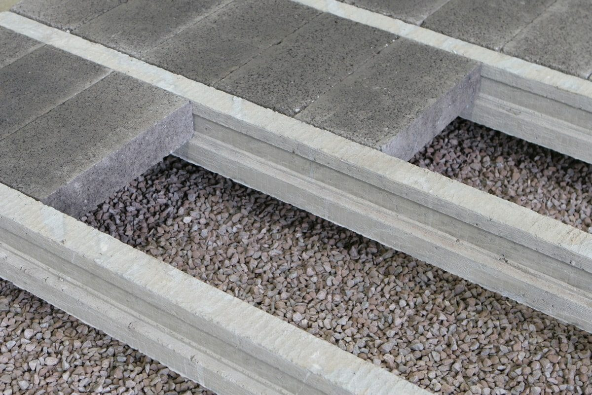 Beam and block flooring system