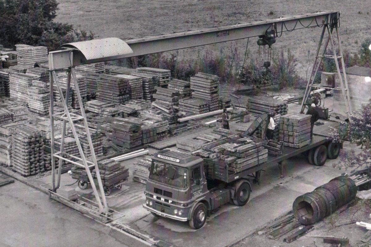 Stressline in 1964