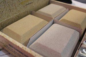 Cast stone colour sample kit