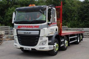 Stressline new DAF truck
