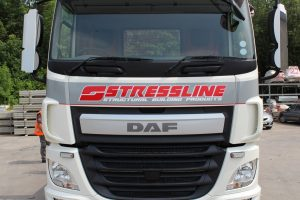 New Stressline DAF truck