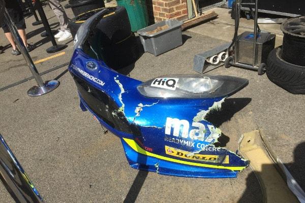 Stephen Jelley broken front