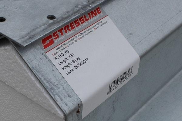 Stressline labelling service