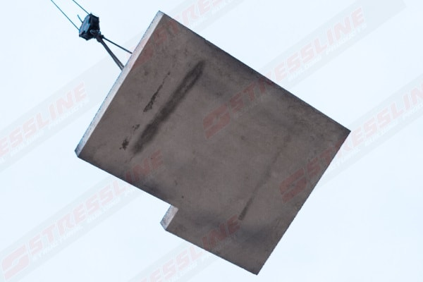 precast concrete landing slabs