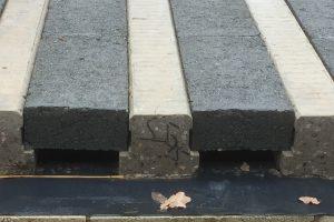 Stressline beam and block at Braunstone Hall