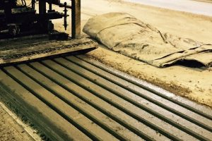 Stressline concrete bed