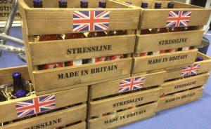 Stressline beer crate