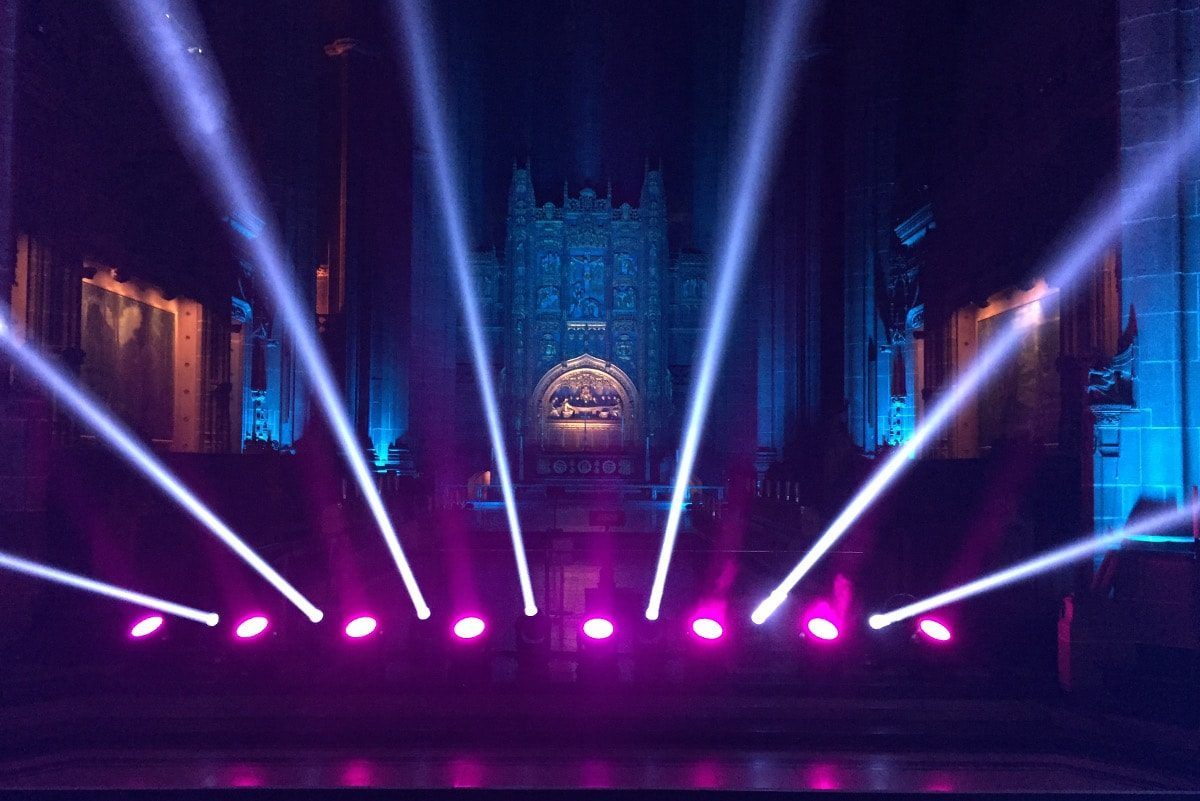 Liverpool Cathedral NBG show