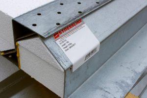 Stressline steel lintel labels