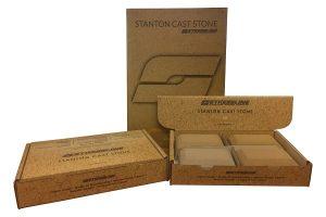 Cast stone POS box