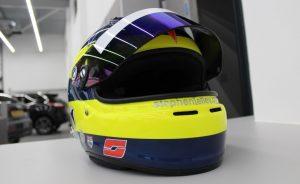 Stephen Jelley Racing Helmet