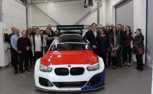 Stressline BTCC pre-launch