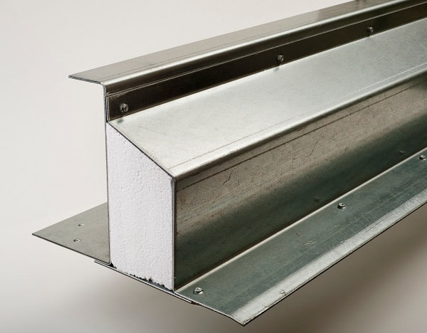 Steel composite lintel