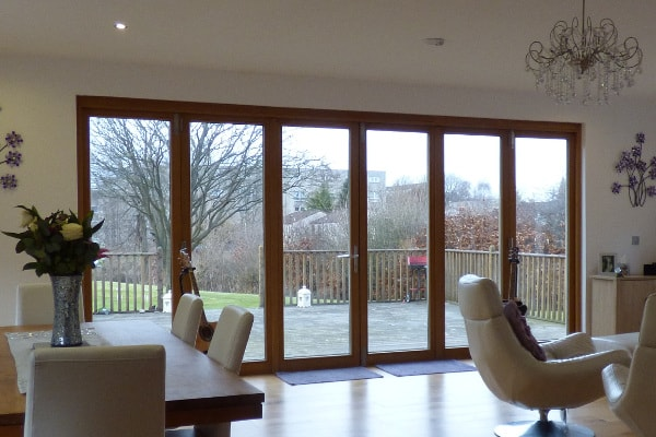 Bi-fold door lintel selection