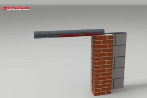 How to install a cavity lintel