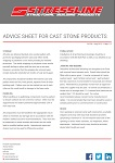 Cast Stone Advice Sheet